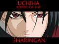 Суровый взгляд шарингана Учиха